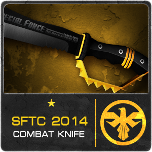 SFTC2014 COMBAT KNIFE (Permanent)