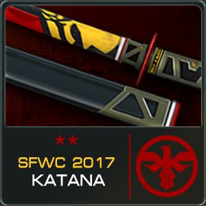 SFWC 2017 KATANA (30 Days)