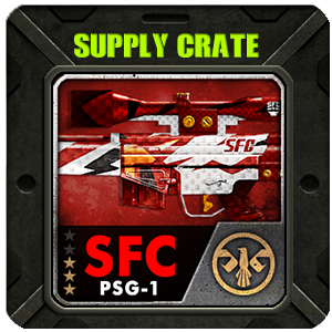 Supply Crate SFC PSG-1 (15 Pieces)