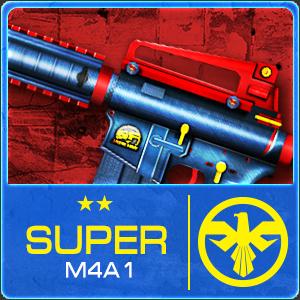 SUPER M4A1 (Permanent)