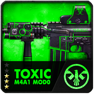 TOXIC M4A1 MOD0 (Permanent)