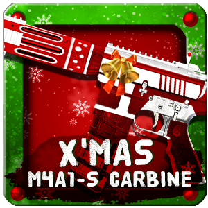 X-MAS M4A1-S CARBINE (Permanent)
