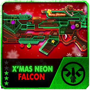 X-MAS NEON FALCON (Permanent)