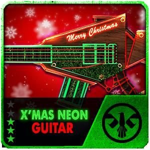 X-MAS NEON GUITAR (Permanent)