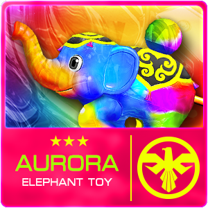 AURORA ELEPHANT TOY (Permanent)