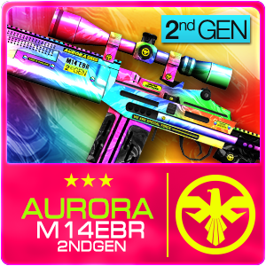 AURORA M14 EBR 2ND GEN (Permanent)