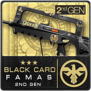 BLACK CARD FAMAS 2ND GEN (Permanent)
