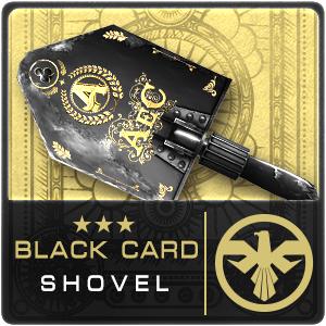 BLACK CARD SHOVEL (Permanent)