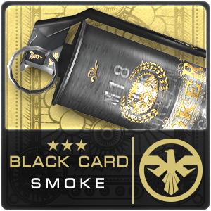 BLACK CARD M18 SMOKE (Permanent)