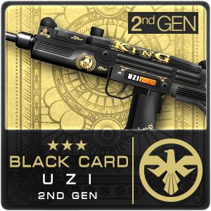 BLACK CARD UZI 2ND GEN (Permanent)