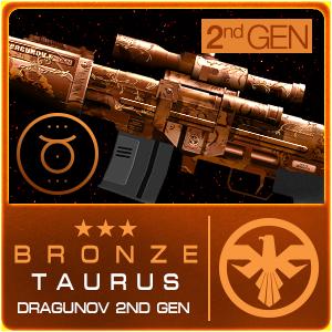 BRONZE TAURUS DRAGUNOV 2ND GEN (Permanent)