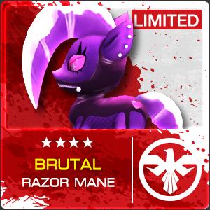 Brutal Razor Mane (Permanent)