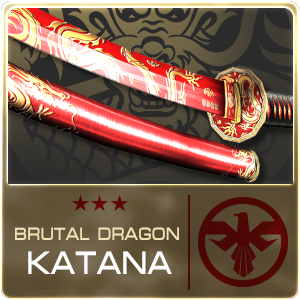 BRUTAL DRAGON KATANA (Permanent)