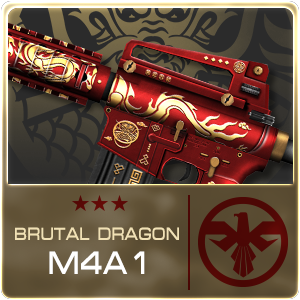 BRUTAL DRAGON M4A1 (Permanent)