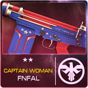 CAPTAIN WOMAN FN FAL (Permanent)