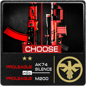 SET PROLEAGUE AK74, SILENCEPROLEAGUE M200 300