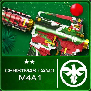 CHRISTMAS CAMO M4A1 (Permanent)