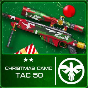 CHRISTMAS CAMO TAC-50 (Permanent)