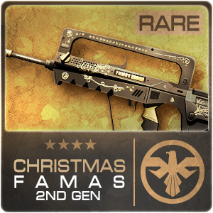 CHRISTMAS FAMAS 2ND GEN (Permanent)