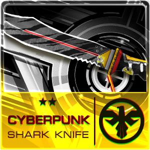 CYBERPUNK SHARK KNIFE (Permanent)