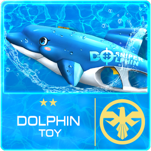 Dolphin Toy (Permanent)