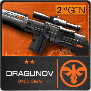 DRAGUNOV 2NDGEN (Permanent)