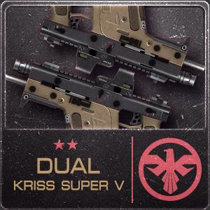 DUAL KRISS SUPER V (Permanent)