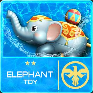 Elephant Toy (Permanent)
