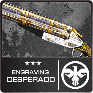 Engraving Desperado (Permanent)