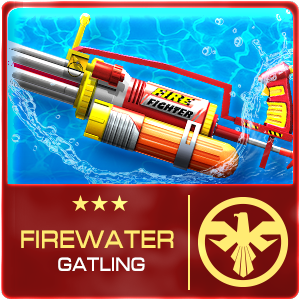 FIREWATER GATLING (Permanent)