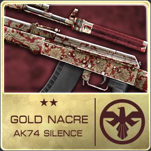 GOLD NACRE AK74 SILENCE (Permanent)