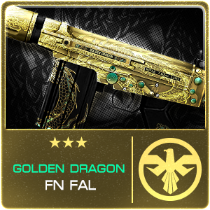 GOLDEN DRAGON FN FAL (Permanent)