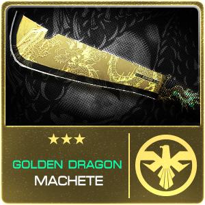 GOLDEN DRAGON MACHETE (Permanent)