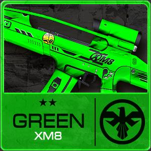 GREEN XM8 (Permanent)