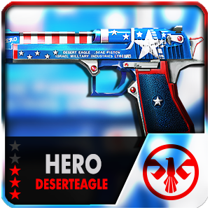 HERO CAPTION DESERTEAGLE (Permanent)