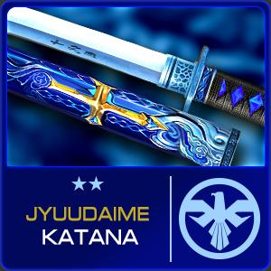 JYUUDAIME KATANA (Permanent)