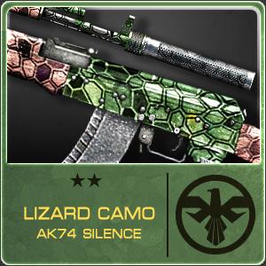 LIZARD CAMO AK74 SILENCE (Permanent)