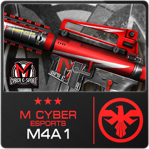 M CYBER ESPORTS M4A1 (Permanent)