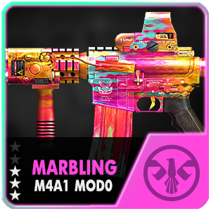 MARBLING M4A1 MOD0 (Permanent)