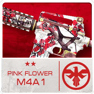 PINK FLOWER M4A1 (Permanent)