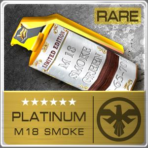 PLATINUM M18 SMOKE (Permanent)