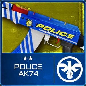 POLICE AK74 (Permanent)