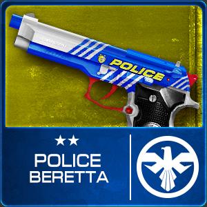 POLICE BERETTA (Permanent)