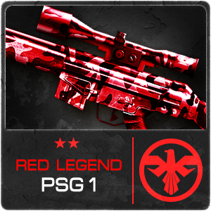 RED LEGEND PSG-1 (Permanent)