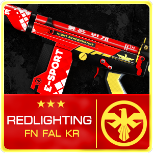 RED LIGHTING FN FAL KOREA (Permanent)