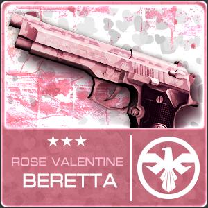 ROSE VALENTINE BERETTA (Permanent)
