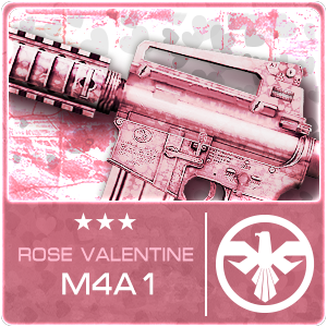 ROSE VALENTINE M4A1 (Permanent)