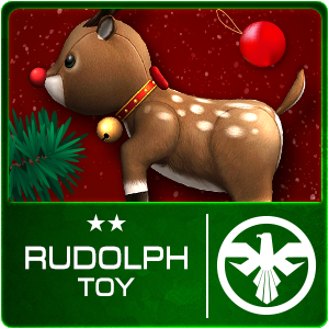 RUDOLPH TOY (Permanent)