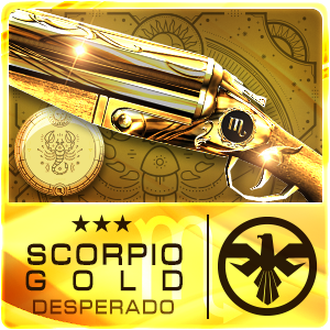 SCORPIO GOLD DESPERADO (Permanent)