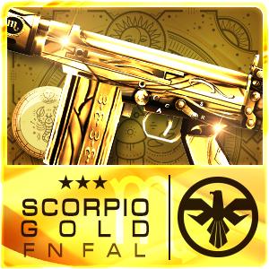 SCORPIO GOLD FN FAL (Permanent)